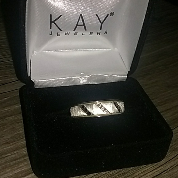 Kay Jewelers Other - White-gold men's ring